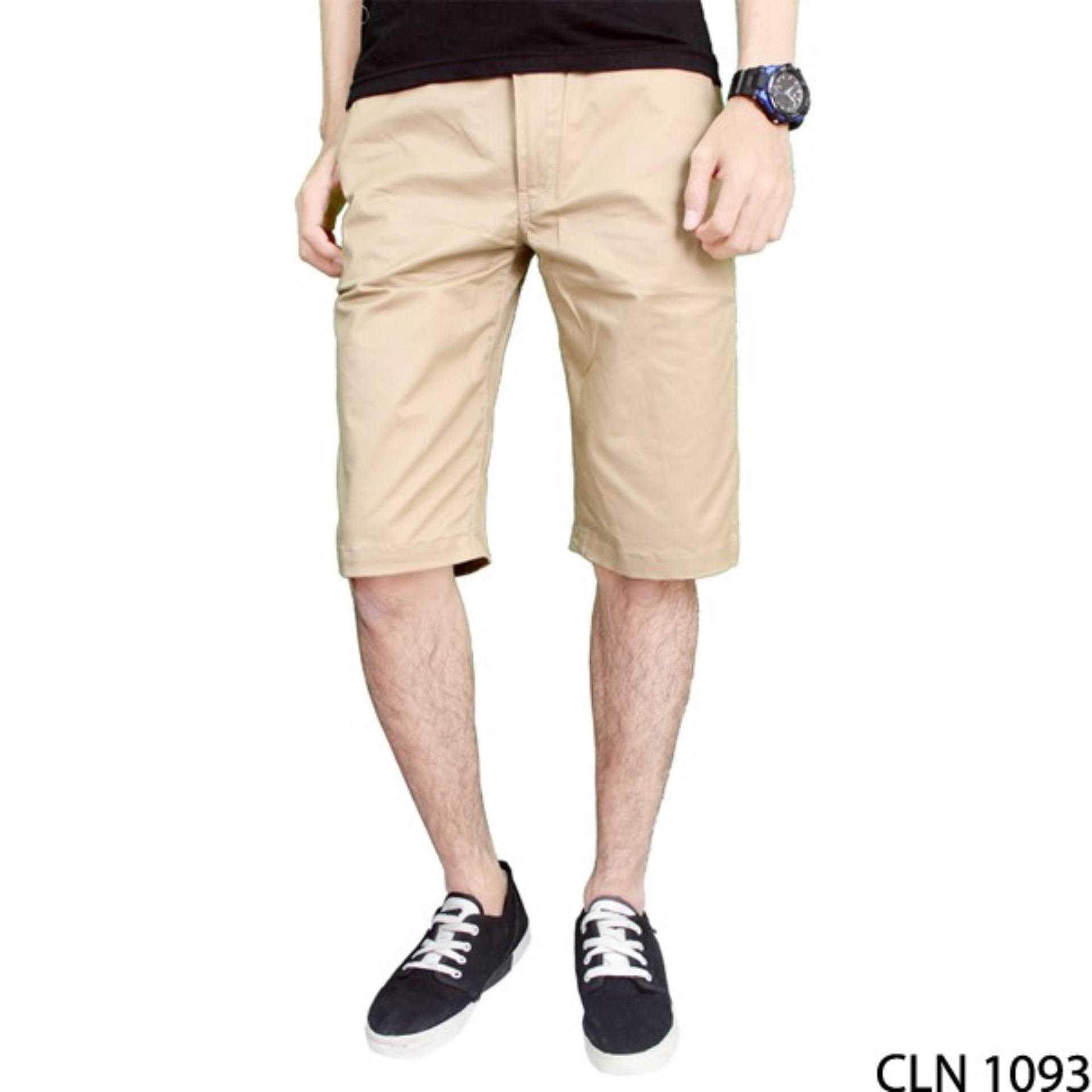 Gudang Fashion Celana Pendek Santai Pria Multicolor2 Daftar Harga Distro Polyester Multi Colour Cln 736 Chino Cream