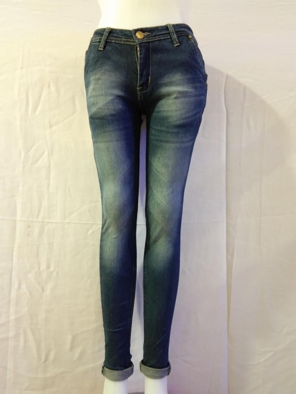 Nusantara Celana Wanita Skinny Celana Jeans Wanita Kantong Bobok Upgrate Ritsleting Kuat Berbahan Denim Ripped