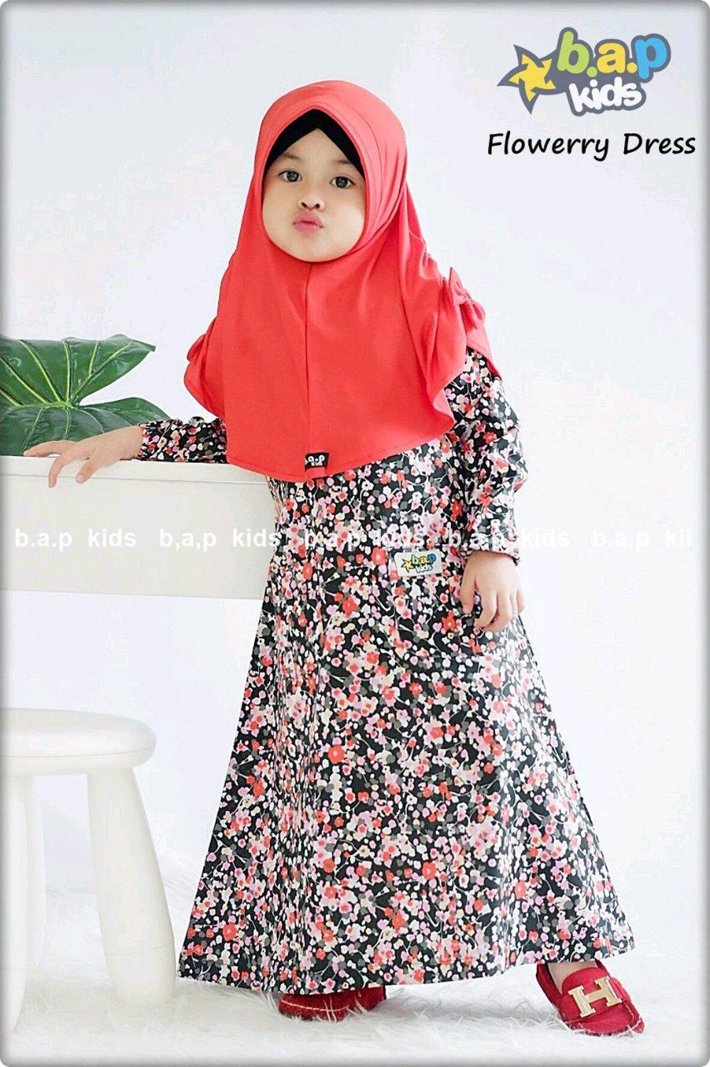 Gamis Anak Perempuan 4 - 6 Tahun Baju Muslim Anak Gamis Syari Anak