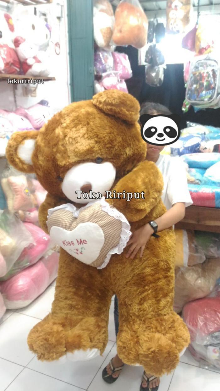 Buy Sell Cheapest Dakron 250gr Boneka Best Quality Product Deals Guling Super 100 Big Giant Jumbo Teddy Bear Beruang Tedy Boneka09022