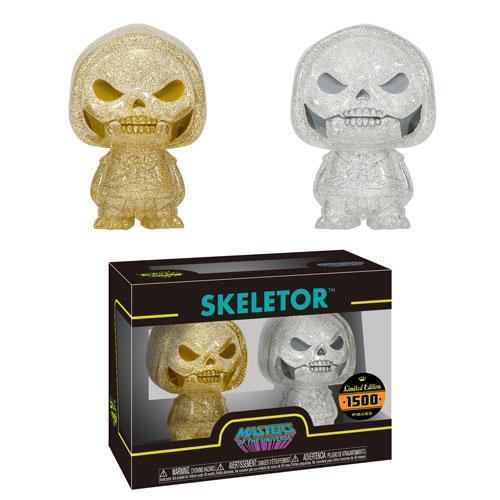 Obral Murah Mainan Figure Funko Hikari XS Masters of the Universe - Skeletor (Gold & Silver) Harga Grosir