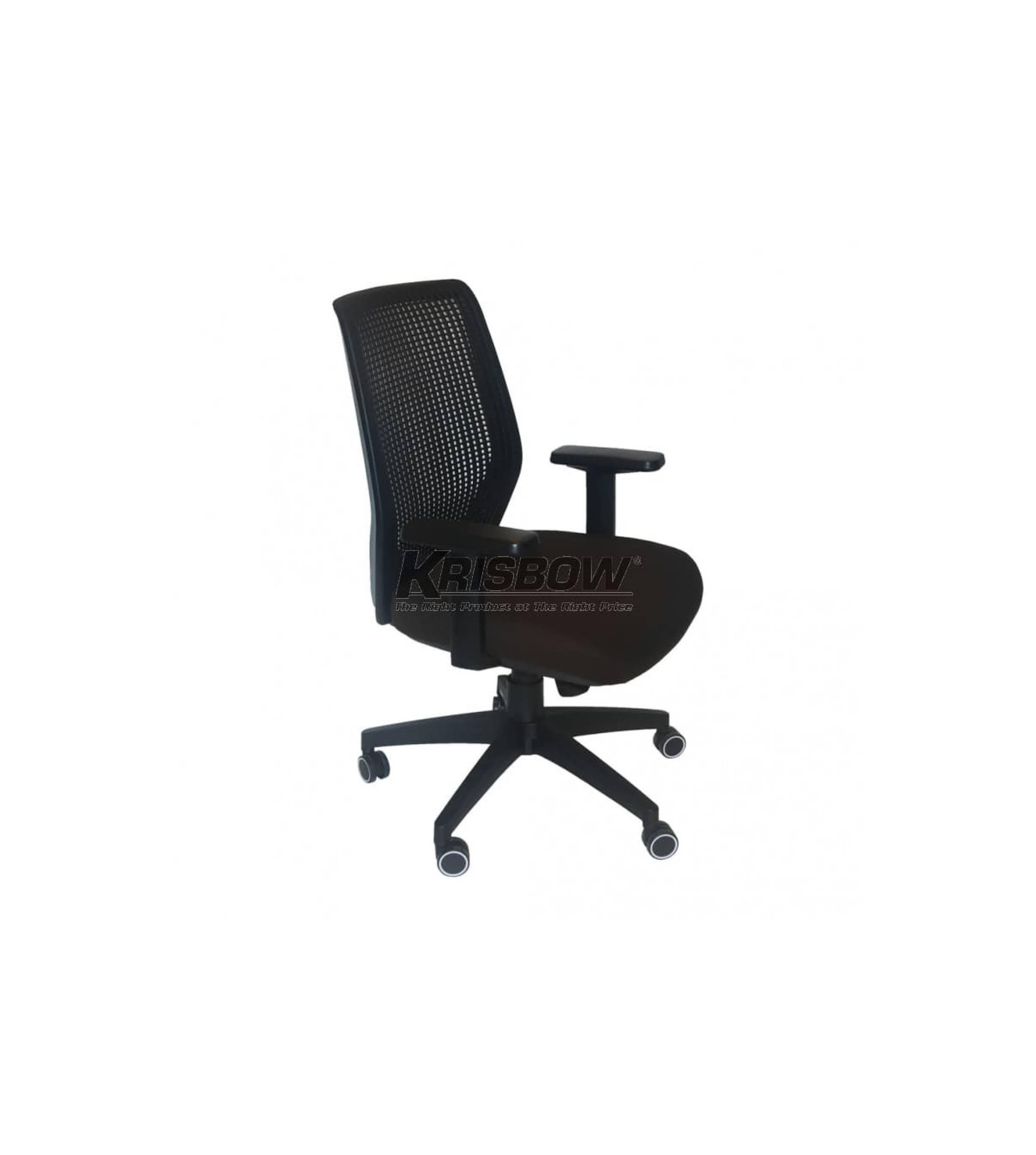Ready ! Folli Managerial Chair Low Back Brown Krisbow