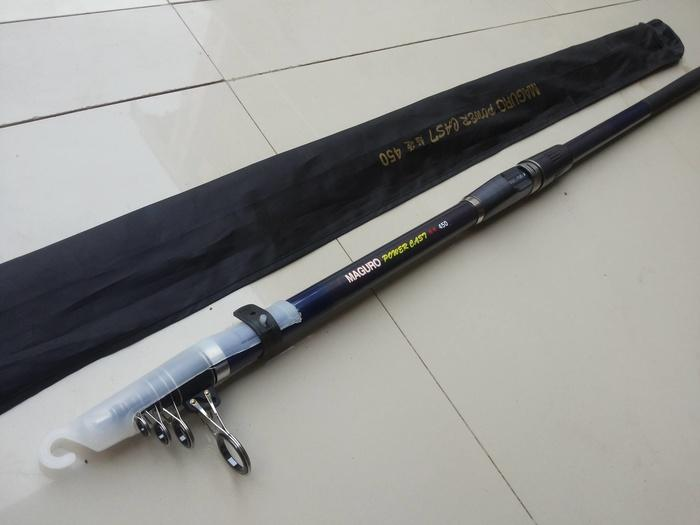 Joran Laut Maguro Power Cast 450 Cm Line 15-25 Lb Medium