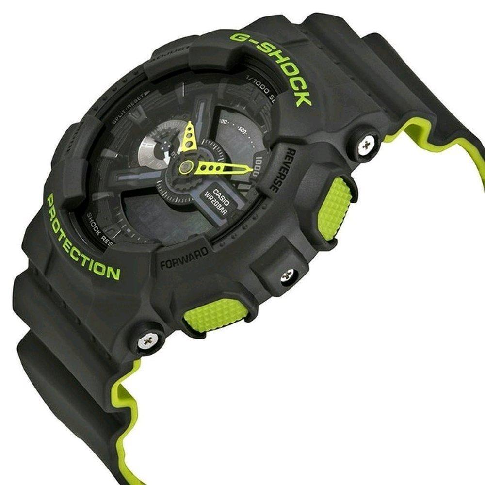 Jam Tangan Casio G Shock Original Ga 100 1a4 Pria Resin Black 110ln Green