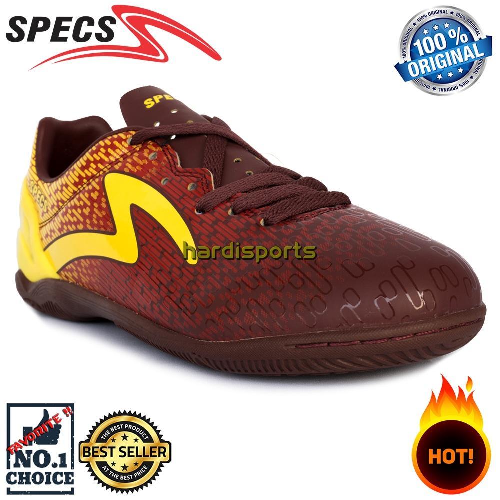 Sepatu Futsal Pria Specs Photon IN 400774 - Chocolate Emperor Red 1f82c8b47e