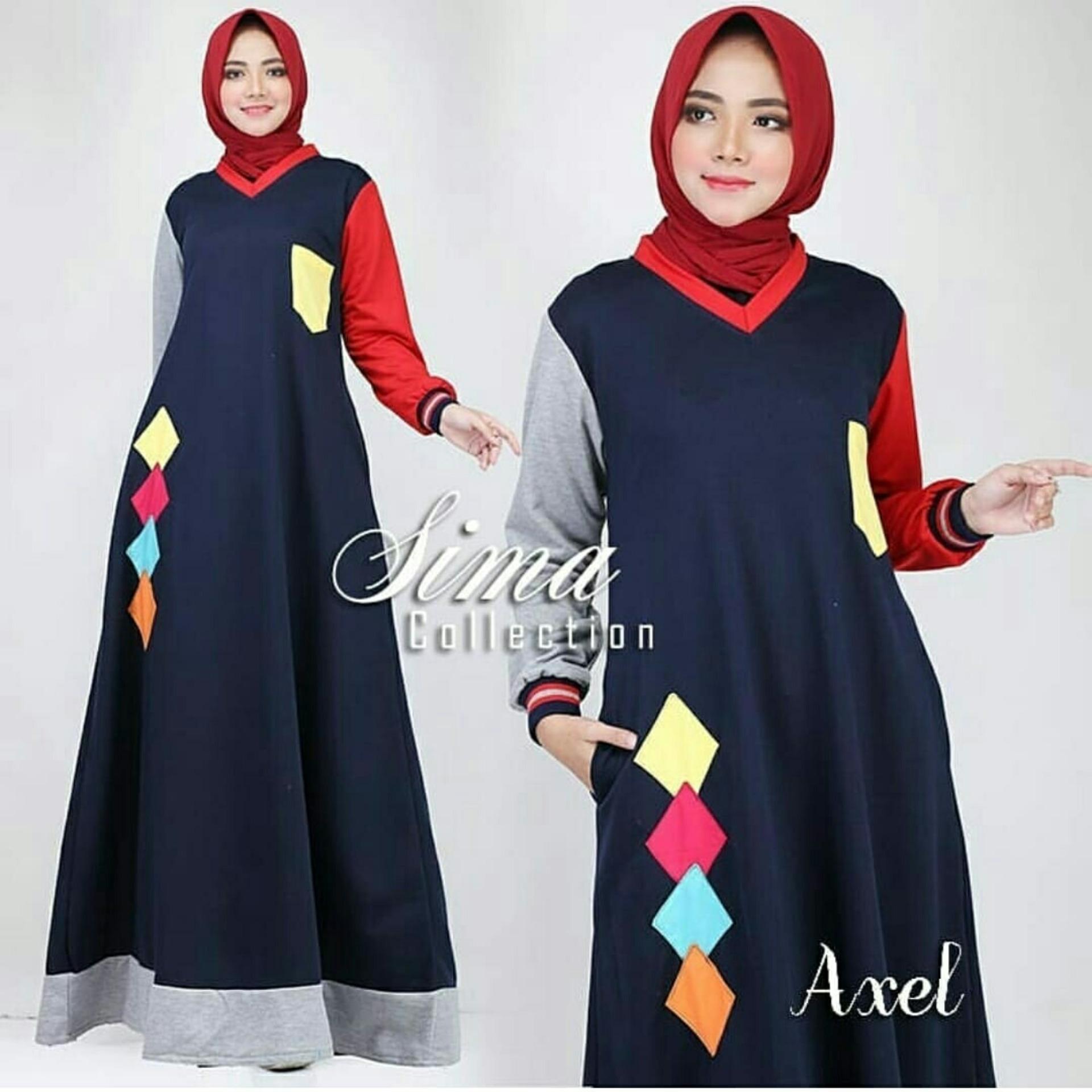 ... Celana Wanita Cullote Jeans Premium. Source · amazing watch - Pakaian Muslimah Wanita Fashionable - Maxy Axel