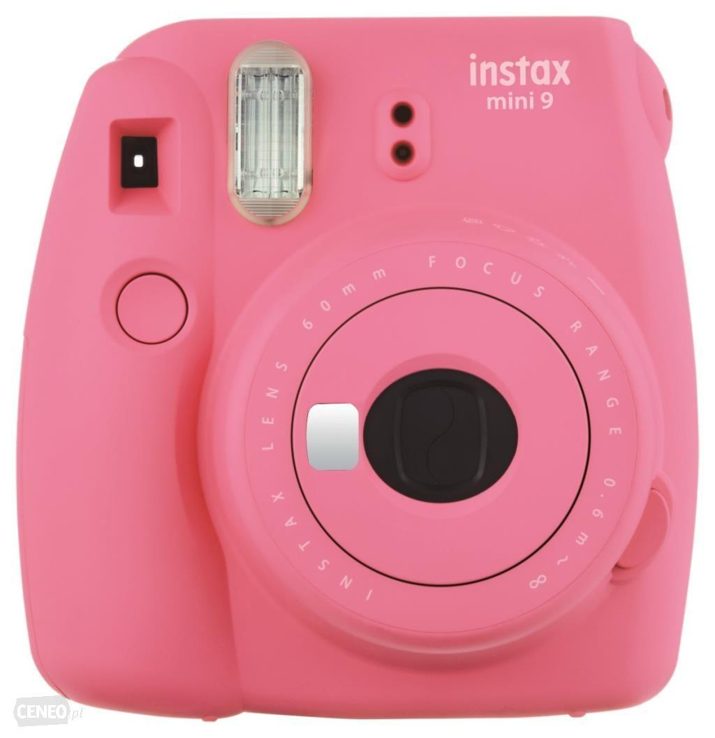 Fujifilm Instax Polaroid Camera Mini 9 Flaminggo Pink
