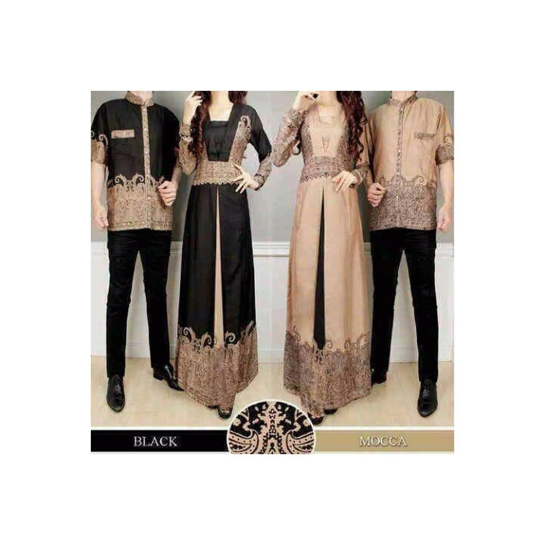 Terlaris couple baju muslim couple elegan batik elegant harga sepasan