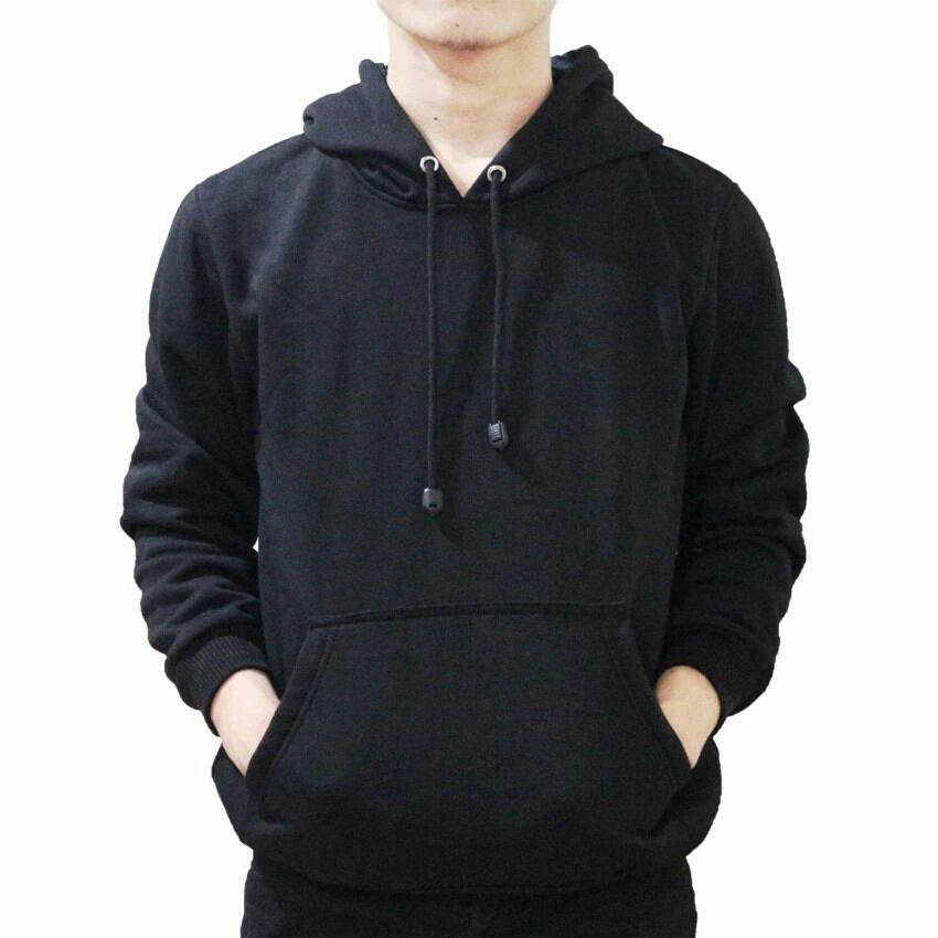 ABL - Jaket Sweater Hoodie Pria Jumper Polos Bahan Fleece 8dceed16a1