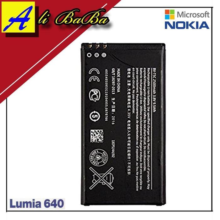 Baterai Hanphone Nokia Lumia 640 BV-T5C Batre HP Battery Nokia Lumia