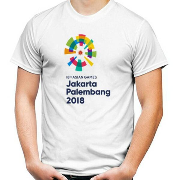 L Ninoe - Kaos Asian Games 2018 / Kaos Asian Games Jakarta Palembang