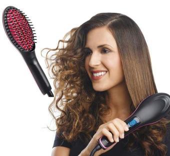 Harga preferensial Harazaki Store Fast Comb Hair Straightener New Design HQT-906B / Catokan Sisir Pelurus Rambut Model Terbaru beli sekarang - Hanya Rp90. ...