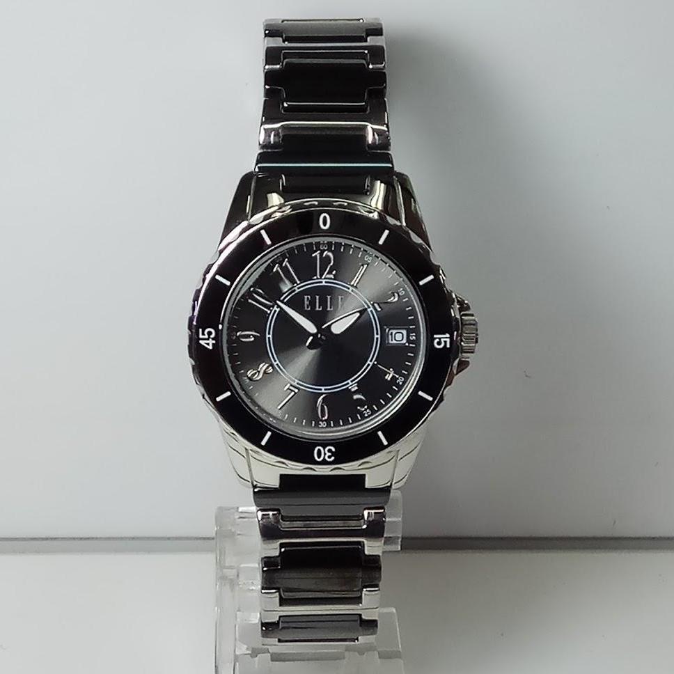 Elle Jam Tangan Wanita Silver Stainless Steel Es20045b01x Daftar El231 Black Watch