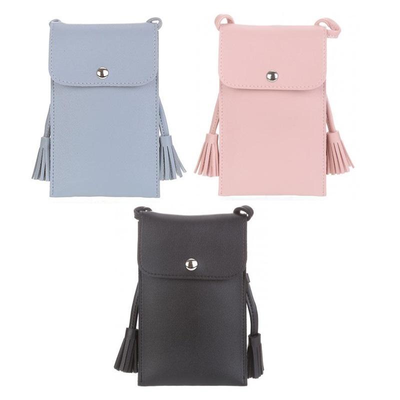 Sling Bag Tas Dompet Handphone Cellphone Mobile Pouch by Miniso