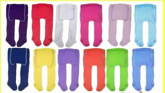 Spesifikasi Dari Catton Rich Paket 4in1 Legging Bayi Tutup Kaki Mix Polos Girl 0 12 Months