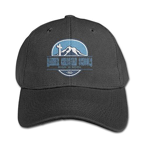 Rainier Christian High School Casual Red Child Children Pure Peaked Cap