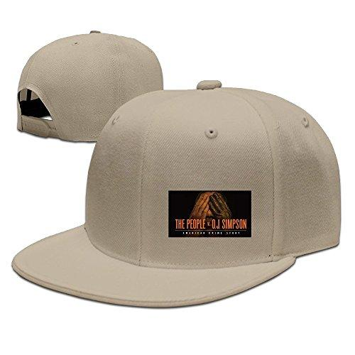 Unisex American Crime Story TV Series 2016 Cotton Baseball Cap Hip Hop Flat Hats
