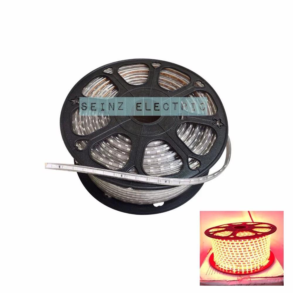 LED STRIP SELANG 5050 AC 220V 100M 6watt Permeter OUTDOOR