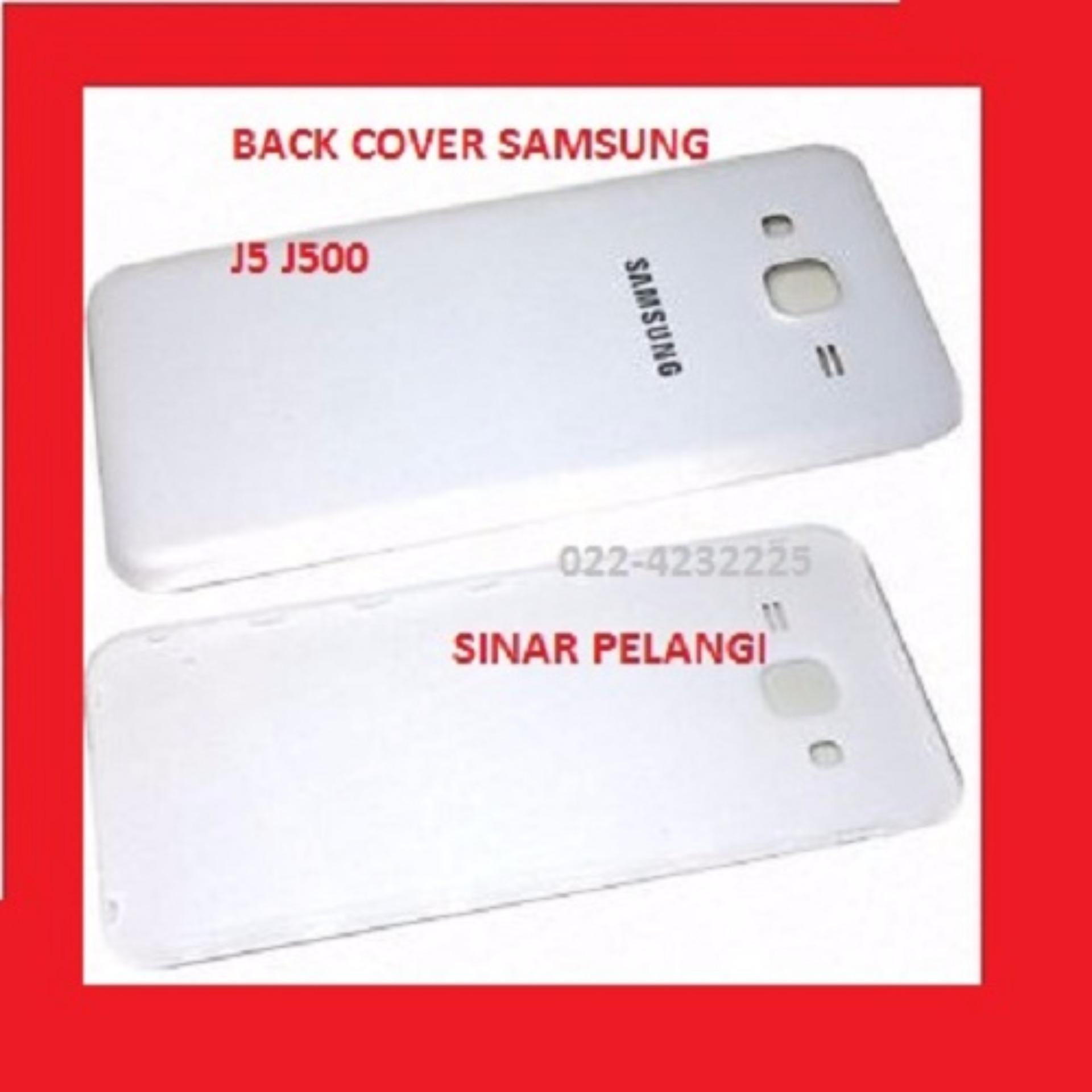 SAMSUNG GALAXY J500 J5 WHITE  BATTERY BACK COVER BACK DOOR TUTUP BATERAI CASING BELAKANG ORIGINAL 904289