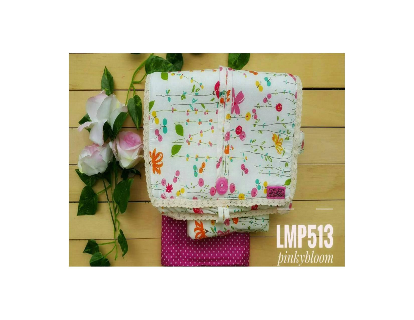 Mukena Katun Jepang | Original | LMP513 | Pinky Bloom