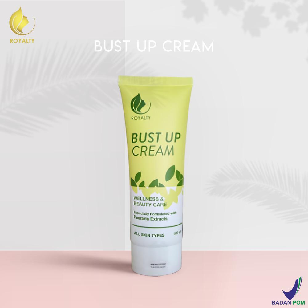 PRODUK TERLARIS Royalty Cosmetic Bust Up Cream pembesar payudara pengencang payudara alami dan cepat - pembesar payudara permanen 100% ORIGINAL