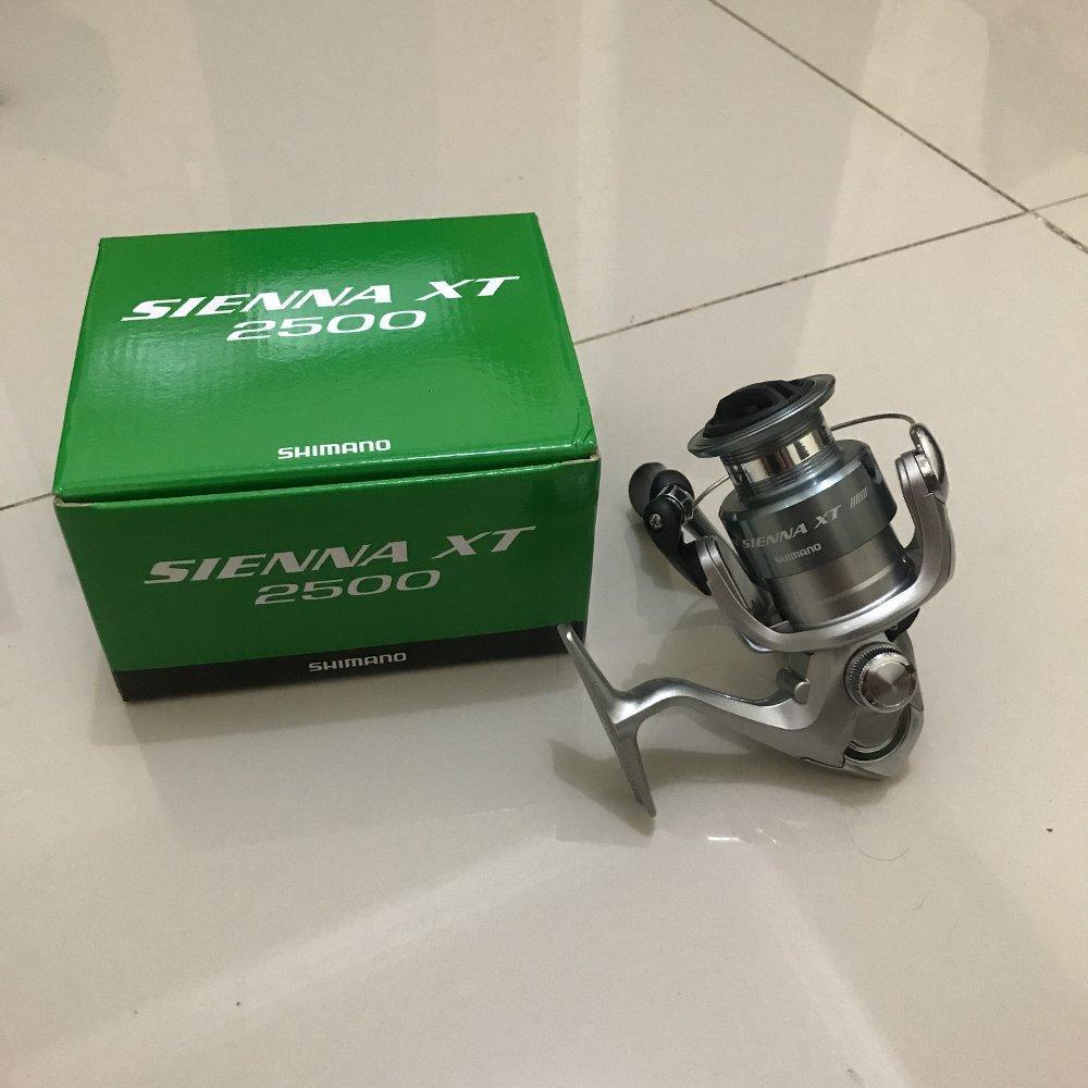 Reel Shimano Sienna 2500 XT new 2018 TERBARU BOS PANCING zerya_fishing