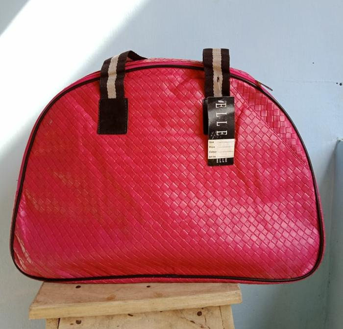 Terlaris  - Tas Travel Bag Hand Bag Original Elle - ready stock