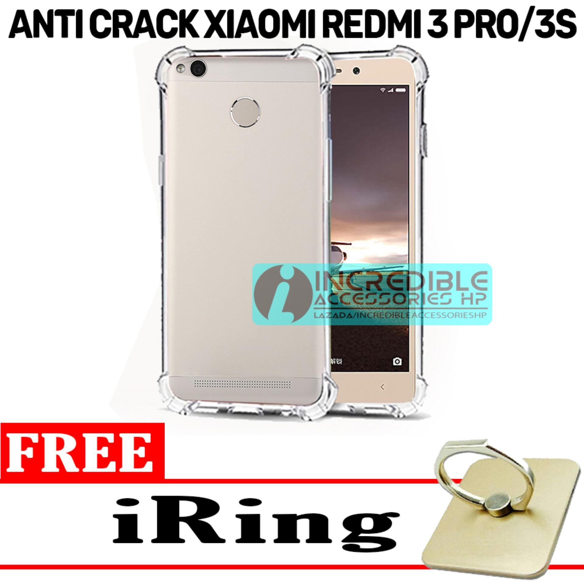 Case Anti Shock / Anti Crack Elegant Softcase for Xiaomi Redmi 3 Pro - White Clear