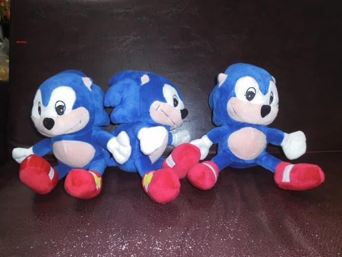 SALE - boneka Sonic the Hedgehog 30 cm murah
