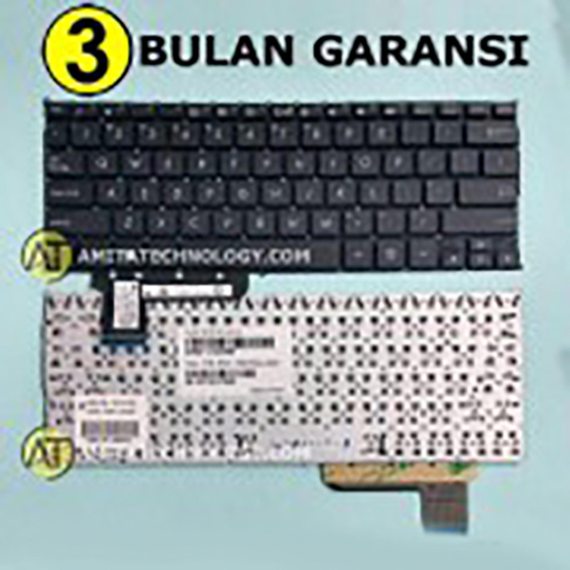 Amita - Keyboard Laptop ORIGINAL Asus X201 X201E X202 S200 S200E Q200 Hitam