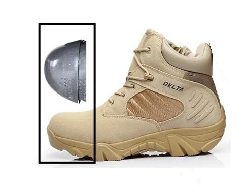 SAFETY  Sepatu Delta Safety 6 Inci Dengan Perlindungan Besi dc3c433470