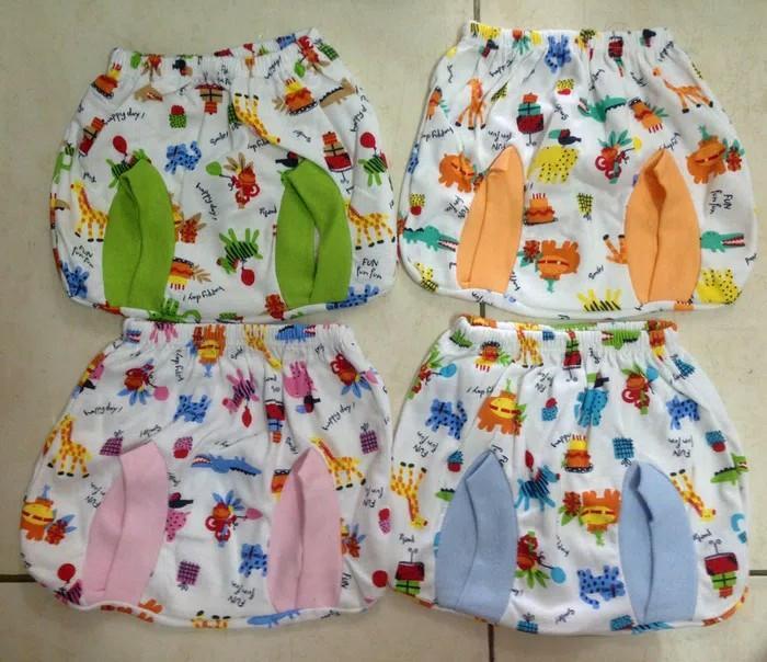 Fjr Perlengkapan Bayi 6pcs Celana Pop Mamimu Katun Motif By Fajar Olsop.
