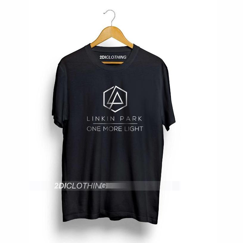 Kaos Band Linkin Park One More Light  - Tshirt Linkin Park One More Light - Black Premium