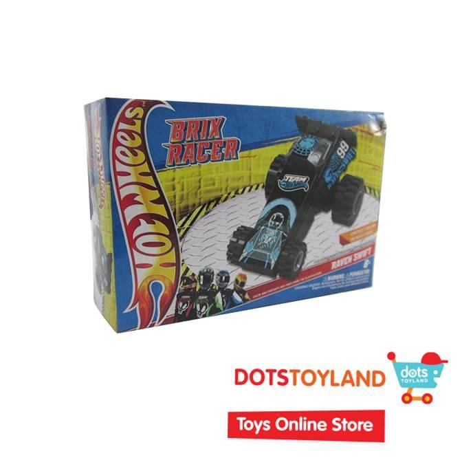 Emco Mini Brix Racer Hot Wheels - Raven Swift 8981 - mainan anak