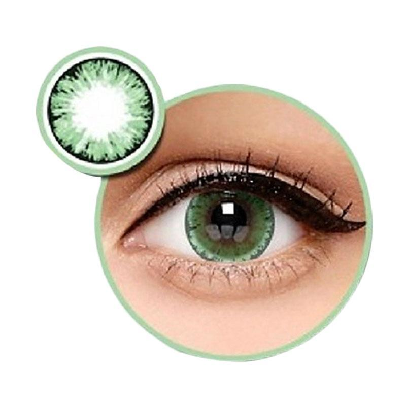 Baby Eyes X2 Ice Nude N8 Softlens by Exoticon – Hijau + Free Lenscase