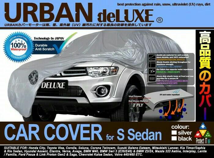 CAR COVER URBAN DELUXE S SEDAN FOR CITY, VIOS, SOLUNA, BALENO, LANCER DLL