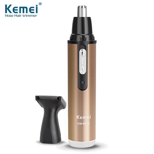 Kemei KM-6632 electric nose device 2 in 1 rechargeable nose hair trimmerIDR95000.  Rp 96.700 73d4d864a4