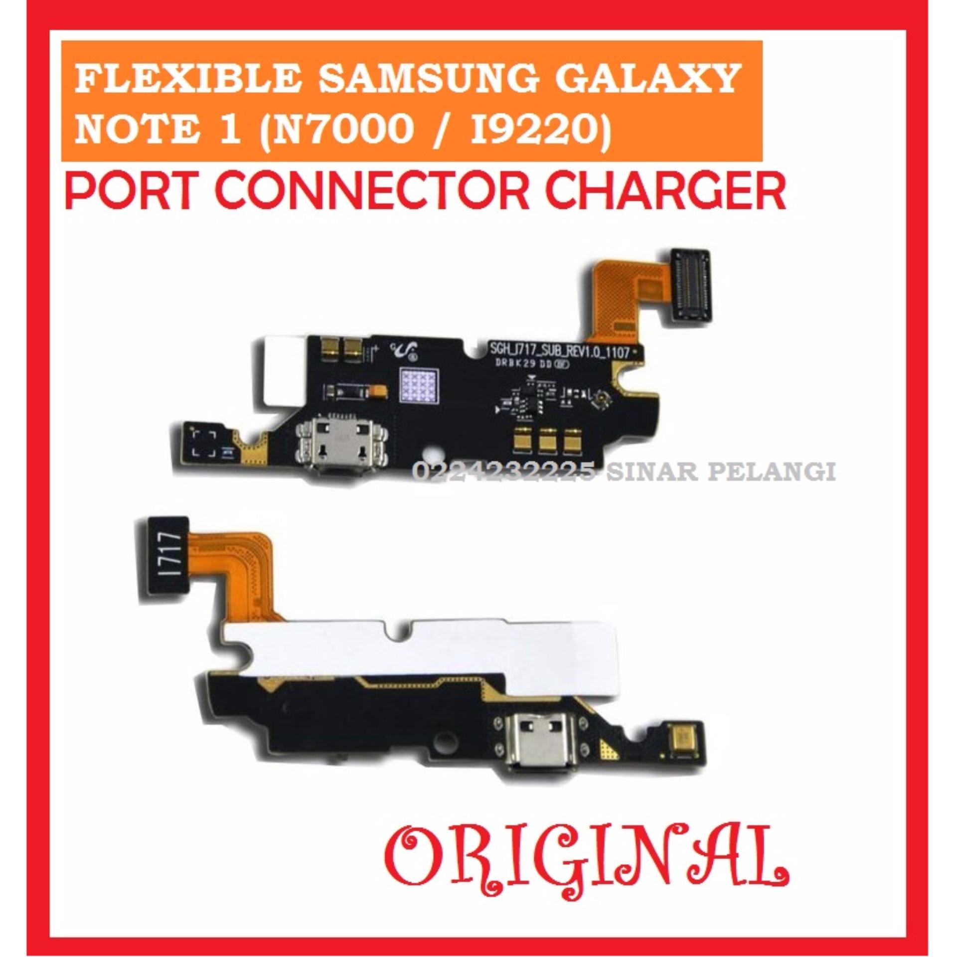 SAMSUNG N7000 NOTE 1 I9220 FLEXI FLEX FLEXIBLE FLEKSIBEL  PORT CONNECTOR KONEKTOR CHARGER ORI ORIGINAL 702125