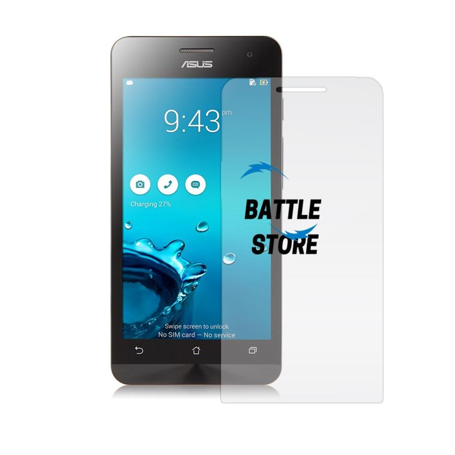 Asus Zenfone C ( ZC451CG ) Screen Protector Tempered Glass / Anti Gores Kaca - White Clear