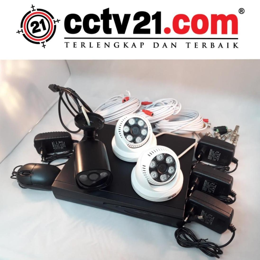 PROMO PAKET  CAMERA 2 INDOOR - 1 OUTDOOR 960P - DVR HD 4 CH