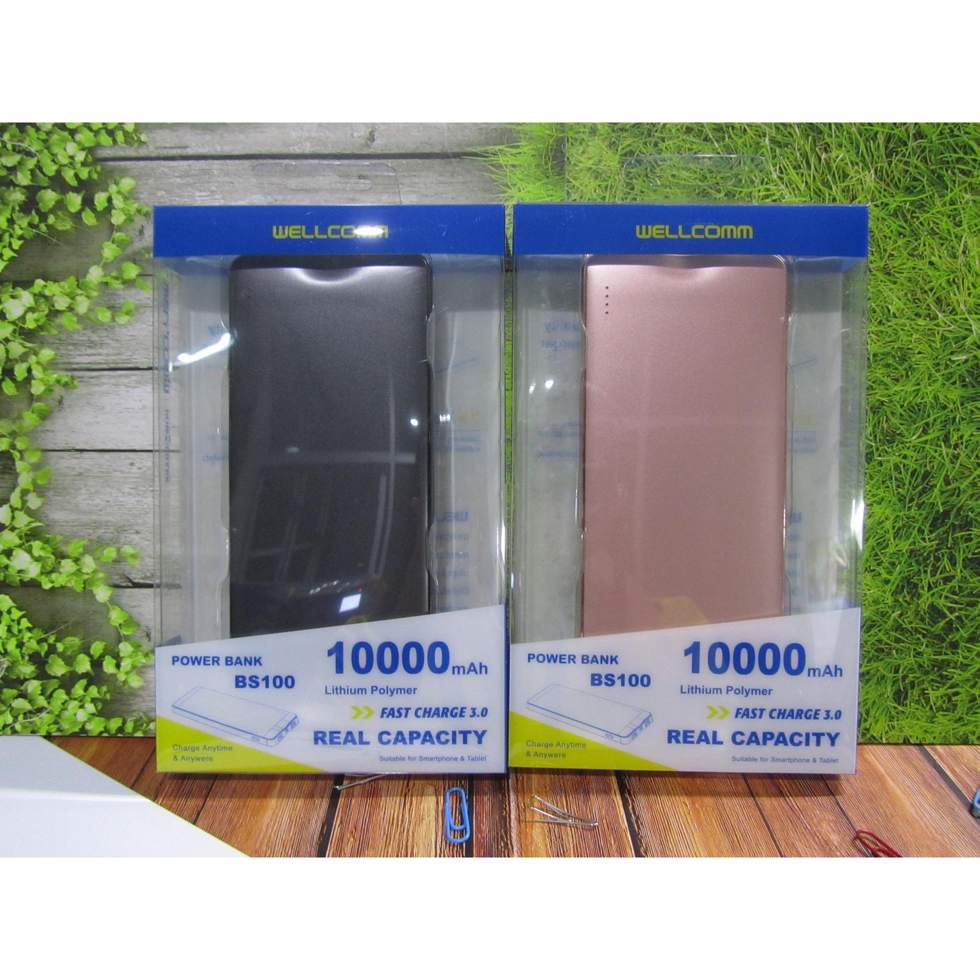 POWERBANK WELLCOMM BS 10.000 mAh