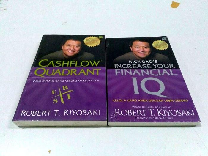 TERBARU Paket Cashflow Quadrant & Increas Your Financial IQ. Robert T kiyosaki NEW