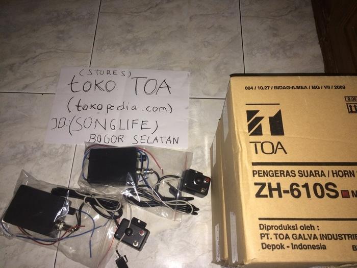 Sirine TOA Patwal 7 Suara motor/mobil  ( klakson motor mobil keong denso suara waterproof telolet hella polisi sepeda fer )