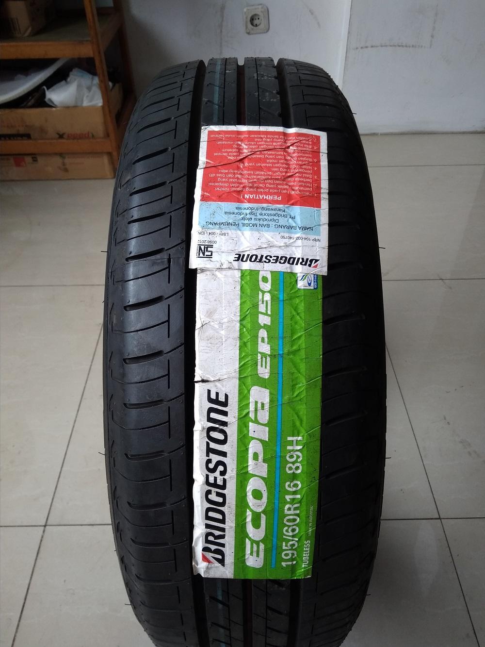 Bridgestone Ecopia EP150 195/60 R16 Ban Mobil
