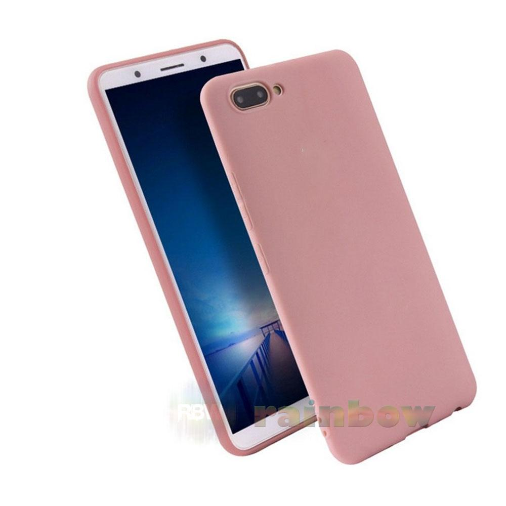 Lize Candy Case Oppo A3s Pink / Soft Case Matte Oppo A3s Slim Matte Silikon Oppo
