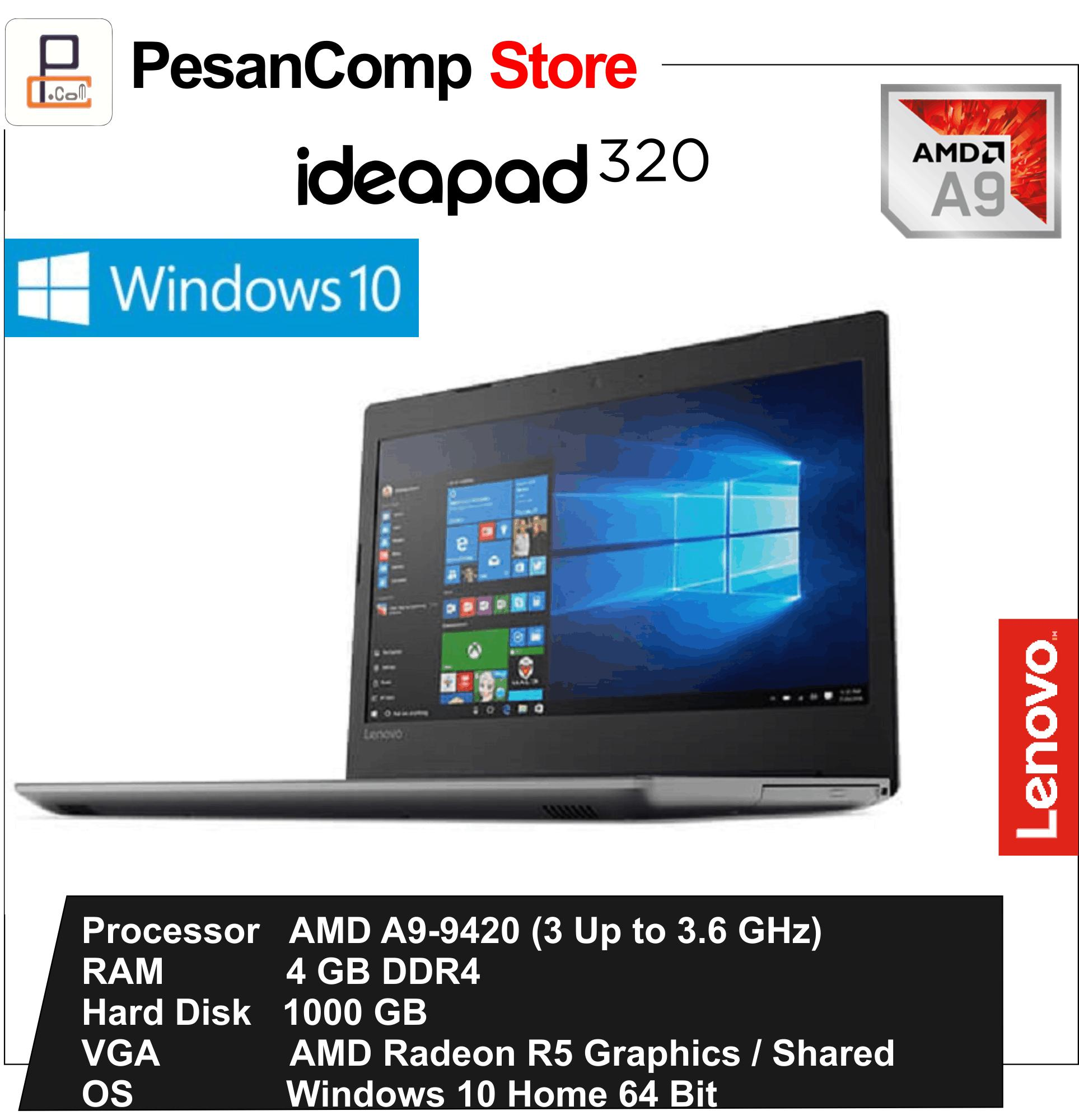 Daftar Harga Lenovo Ideapad 110 05id Notebook Black A9 9400 4 Gb 1 14ast 320 0uid Blue Amd 9420 4gb 1tb R5