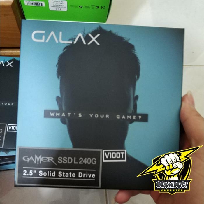 GALAX GAMER SSD L 240GB SATA IIIu002F6Gbps 2.5 Inches