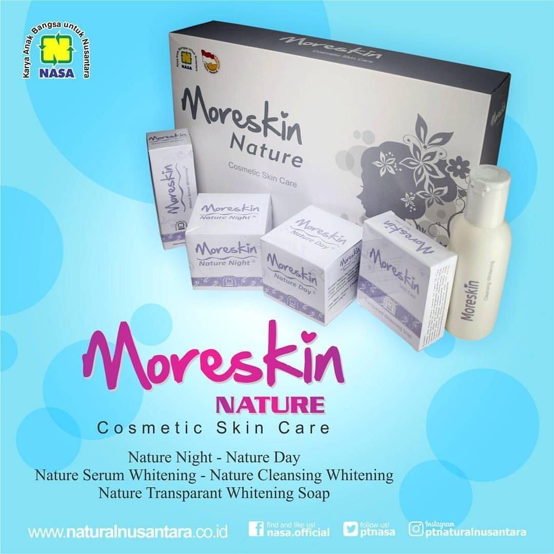 Paket Moreskin Nature Kosmetik NASA Herbal