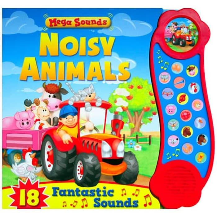 Terlaris Mega Sounds Noisy Animals Board Book With 18 Fantastic Sounds Stories For Kids Harga Grosir By Paloegada.