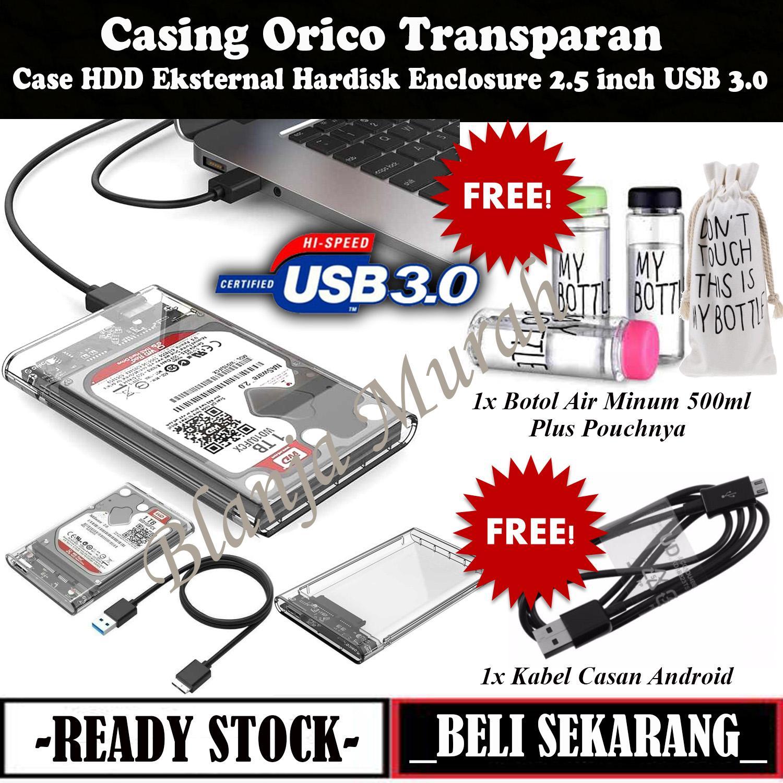 Enclosure Casing Hardisk Laptop Orico USB 3.0 - FREE 2 Item HOT BONUS